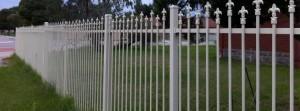 Metric Fencing Security