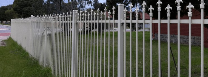 Metric Fencing Security
