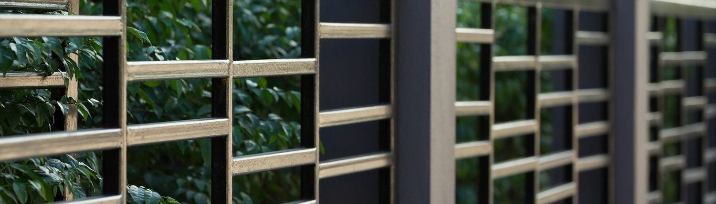 Metric Fencing Garden Fence