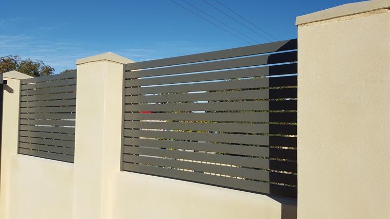 Aluminium Slats Gallery Metric Fencing