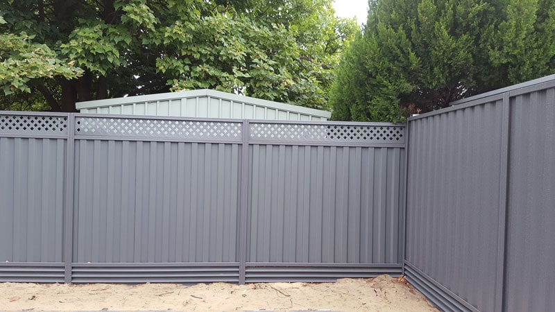 Colorbond Fencing Gallery Metric Fencing